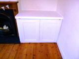 fitted concelled cabinets